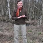 Anke Detering - mit Schmetterlingen kennt sie sich besonders gut aus