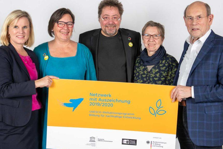 Netzwerk 17plus Minden-Lübbecke als BNE-Netzwerk ausgezeichnet