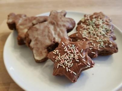 Moorhexen-Weihnachtsplätzchen: Vanillekipferl und Lebkuchen Beim Backen das Klima schützen!