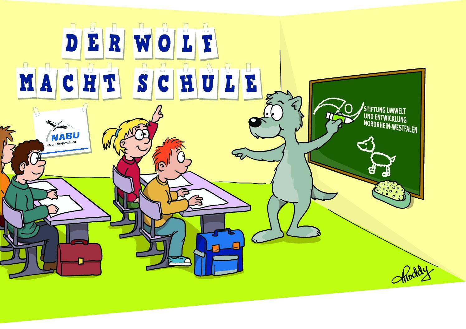 Der Wolf kommt ins Moorhus ++ Alle Aktionen und Ausstellung auf Oktober verschoben! ++