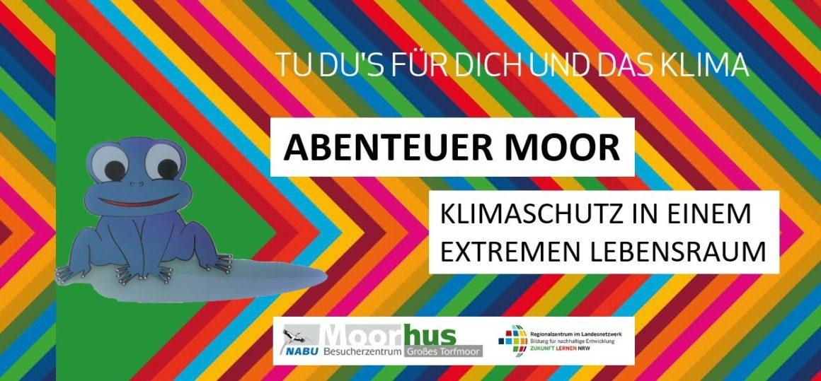 "NEU: Digitale Rucksack-Rallye ""Abenteuer Moor"" für Familien"